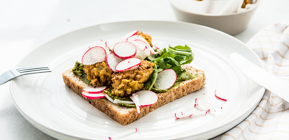 Carbo-Loaded Cauli Patties
