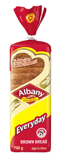 Albany Everyday 700g Brown Bread