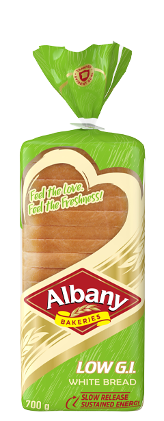 Albany Low Gi 700g White Bread