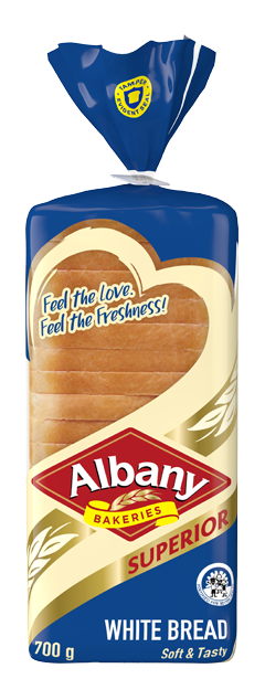 Albany Superior 700g White Bread