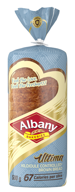 Albany Ultima 500g Brown Bread
