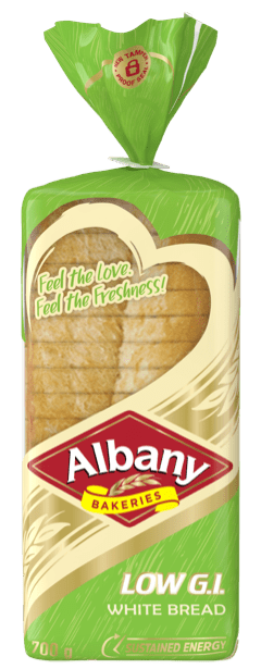 Albany Low GI_700g White Bread